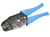 Crimping Tool, Cat 6a, RJ45 Dual Die, Ratchet Type - P/N WC471009
